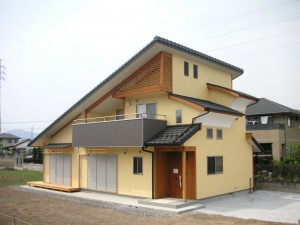 軽部様邸(栃木市)